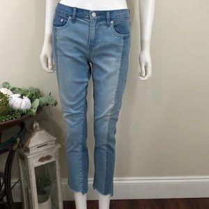 🦋 Gap Best Girlfriend Multi Color Blue Jeans New